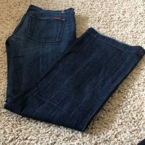 """7 for all mankind Size 32 """"the Slim Trouser"""""""